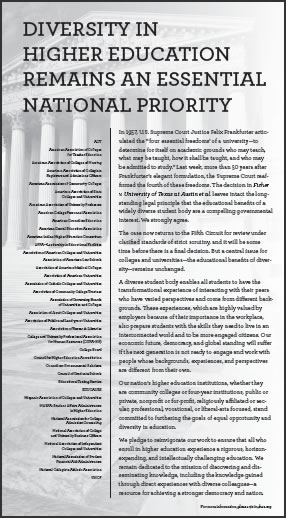 New York Times Ad - Diversity