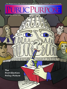 Public Purpose Cover Fall 2008
