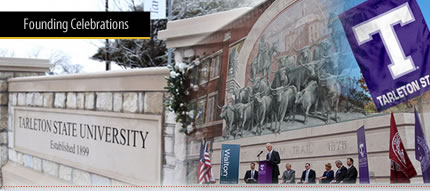 Tarleton State University - Founding Celebrations home