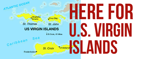 Here for USVI - graphic